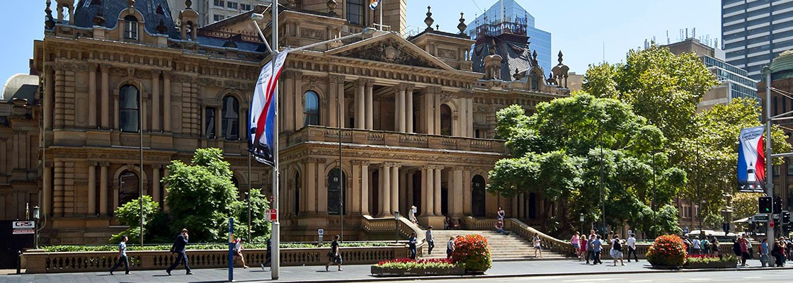 City of Sydney town hall